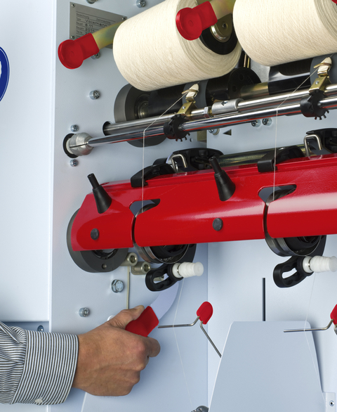 CompactTwister Central adjustment of deflection roller
